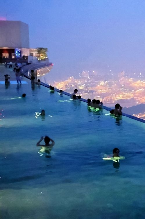 New Wonderful Photos: Marina Bay Sands Sky Park, Singapore