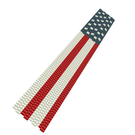 67 best images about bead patriotic on pinterest united for Patriotic beaded jewelry patterns