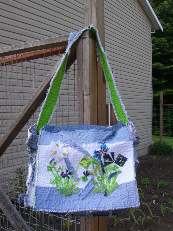 311 Best Images About Recycled Blue Jean Crafts On