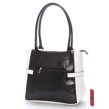 #Delami Chayse Dámská kabelka přes rameno černo bílá