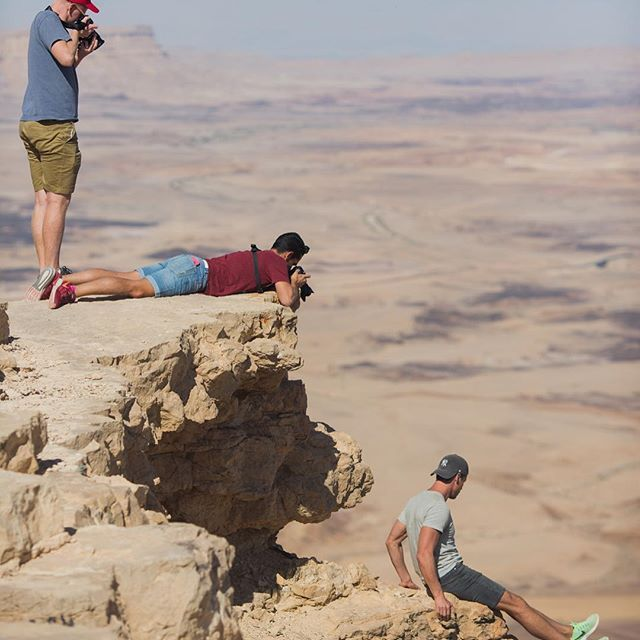 This photo sums up how awesome blogging trips are! Such a great vibe and everyone is supporting each other, although there is  someone that had to do the crazy stuff! 😂Thanks @jonesaroundtheworld and @oktlv you guys are amazing! 👊🏻👍🏻✌🏻  📸 by @eightbellswed from  @vibeisrael #vibetravel #vibeisrael  .  .  .  #iamtraveler  #wonderfulworld #earthpics #travelmore #worldwide #awesomeearth #lovetheworld #lifewelltravelled #travelandleisure #worldtr