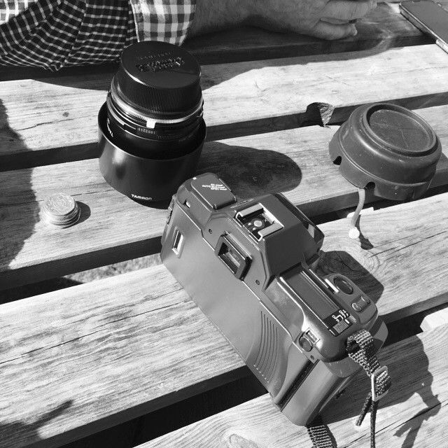 #photography #blackandwhite #film #outside