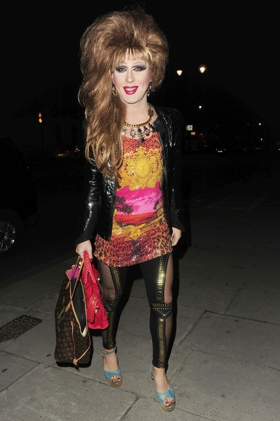 72123, LONDON, UNITED KINGDOM, Saturday, January 21, 2012,.Jodiesh atteattends Lisa Snowdon's 40th birthday party at a private venue on Portland Place in London.