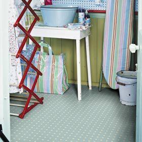 Spot Blue flooring design by Cath Kidston for Harvey Maria