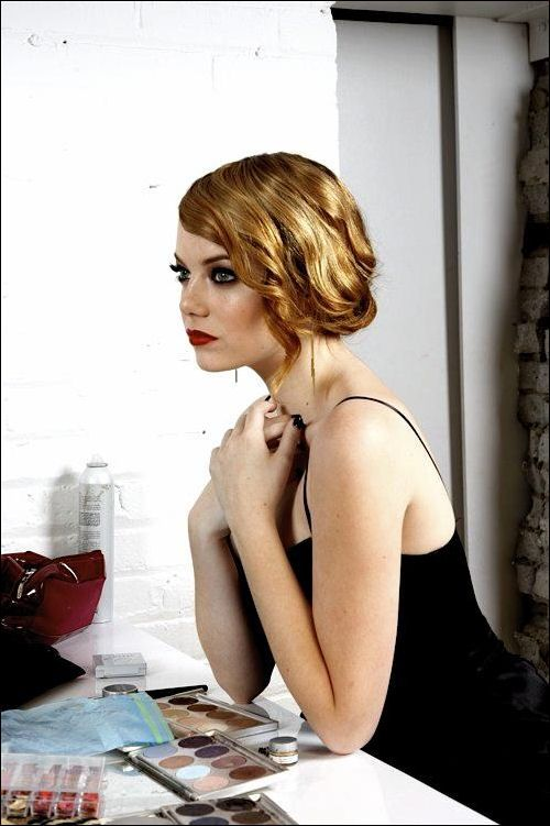Sophisticated redhead #EmmaStone #hair