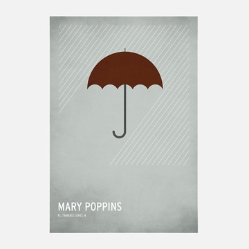 Mary Poppins Poster A2: Mary Poppins, Canvas Art, Marypoppins, Poster, Christianjackson, Christian Jackson, Design, Canvases