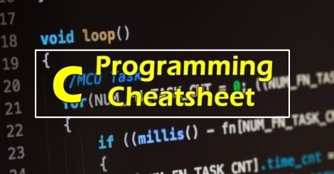 C Programming Cheat Sheet What is C Program? Cis a general-purpose, imperative computer programming language, supporting structured programming, lexical