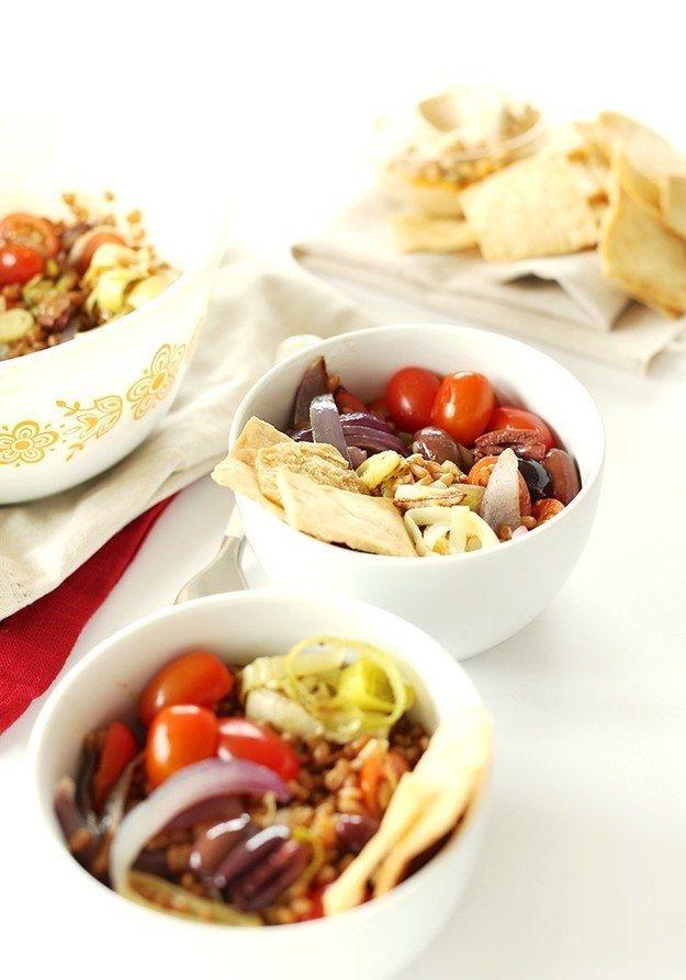 Mediterraner Weizen-Salat | 23 super leckere Gerichte, die Du schnell zubereiten kannst