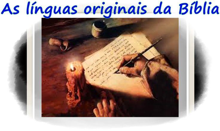 """Em qual idioma foi escrito a Bíblia? Por que o Velho Testamento tem partes escrito em ARAMAICO? Qual o propósito divino em conduzir os escritores do Novo Testamento a escrever na língua grega? Neste vídeo você encontra, de forma rápida e resumida, as respostas dessas perguntas. CONFIRA""""  *AS LÍNGUAS ORIGINAIS DA BÍBLIA *O HEBRAICO *MASSORETAS *O ARAMAICO *CATIVEIRO DO REINO NORTE - ISRAEL *CATIVEIRO DO REINO SUL - JUDÁ *O GREGO KOINÉ"""