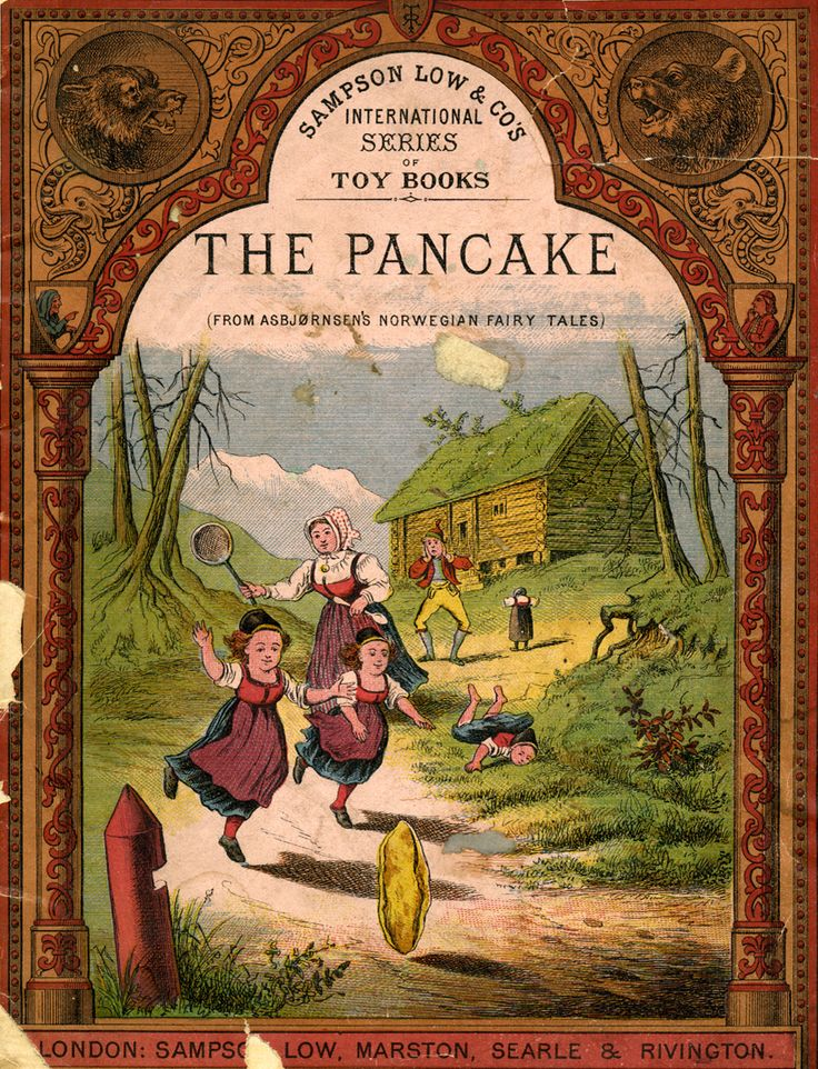 The Pancake (a Norwegian fairy tale) I loved this book! Haven't seen it in ages!
