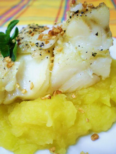 Bacalhau aos Dois Alhos e Purê de Mandioquinha | Figos & Funghis