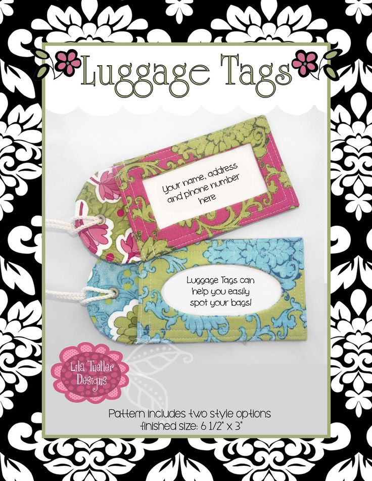 The  Best Luggage Tag Template Ideas On   Tag