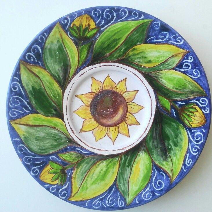 Sunflowers 🌻🌻🌻  Подсолнухи 🌻   #Декор стола #Посуда