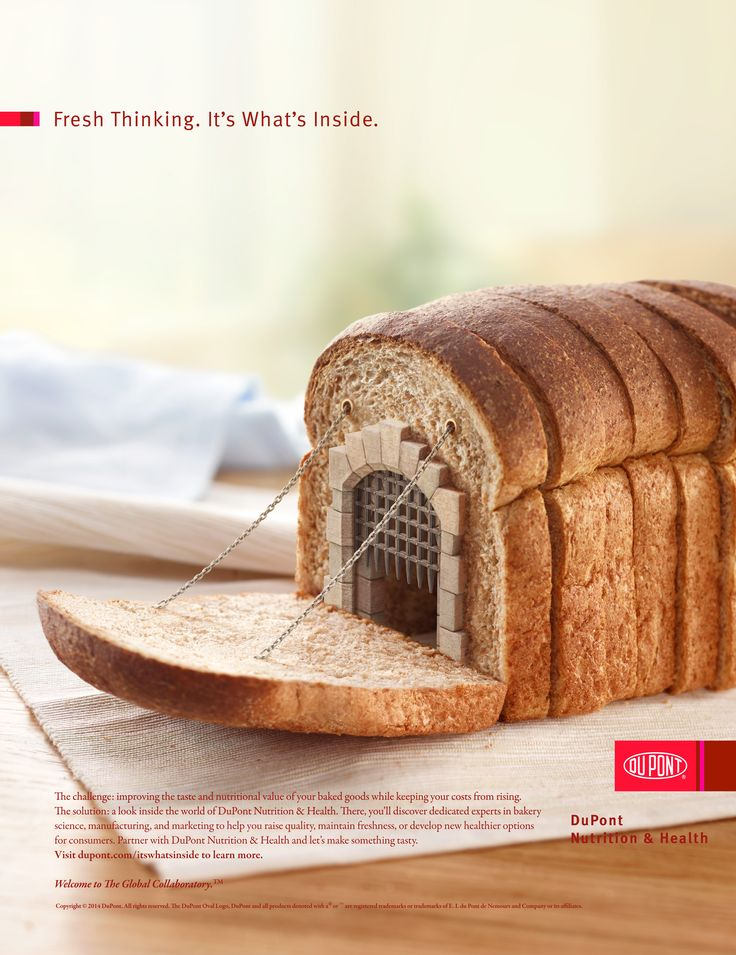 Make every bite matter more - DuPont Nutrition & Health, Ogilvy & Mather New York partnered up with Polish Agency Ars Thanea to bring their ideas for heightening food quality awareness.