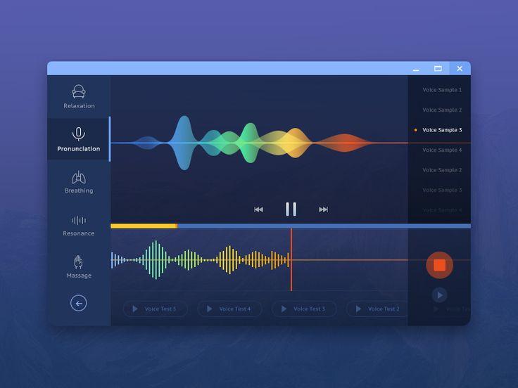 voice treatment application