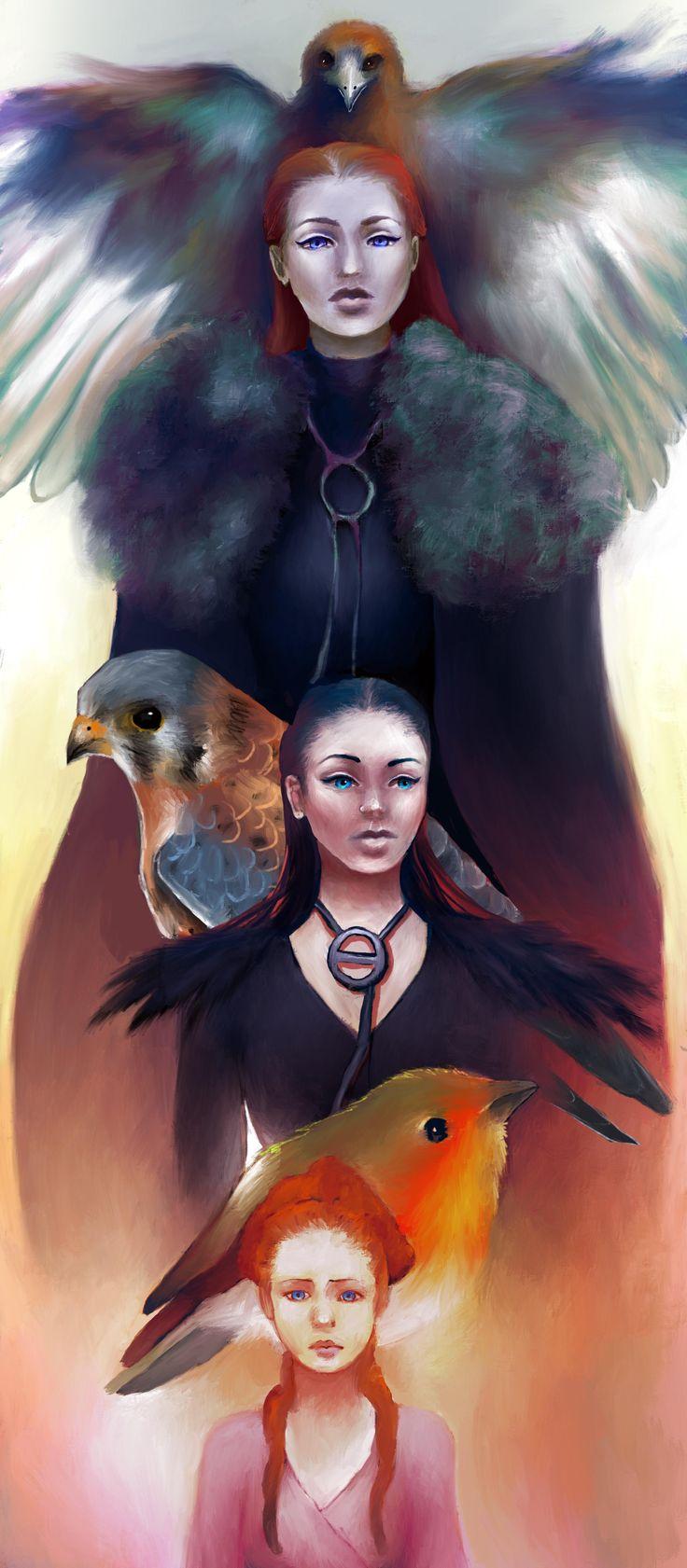 [NO SPOILERS] My Sansa fan art Music IndieArtist