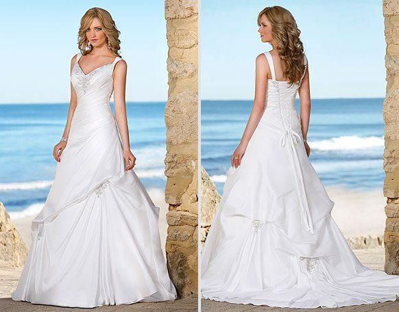 Angela and ithyle wedding dresses