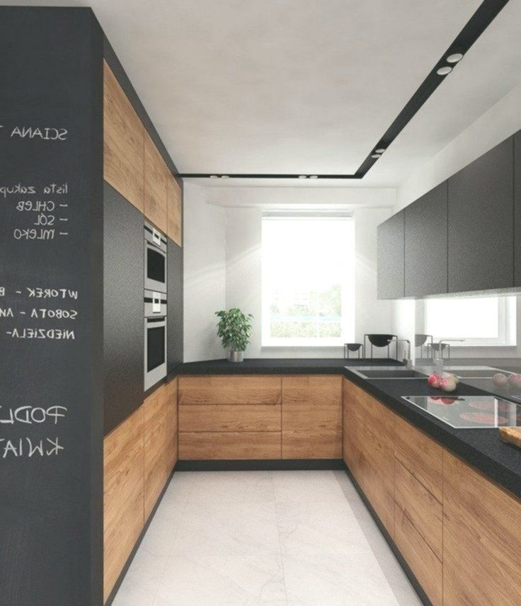 Open kitchen in U shape for every room – 60 photos and tips #Photos # for # every …