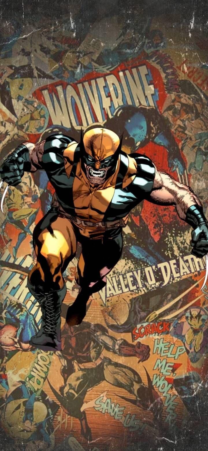 Few Marvel S Wolverine Wallpapers For Mobile Phones Nerdss Hub Wolverine Wallpaper Wolverine Comic Wallpaper Marvel Artwork