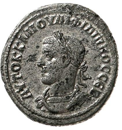"Philip II, 247 - 249 - Provincial Roman coins - Syria - Antiochia - Philippus II. 247-249. Philippus II. 247-249. tetradrachm 247 / 249. Bel., drap. Brb. L. / Î""Î-Î?Î'Î¡Îß Î-Î?Î?Î¥CÎ?Î'C ΥΠÎ'Î? Î'Î?Î?Î?ÎßÎ?Î' SC. Eagle. Prieur 461. very fine, minimal corroded  Dealer Teutoburger Münzauktion GmbH  Auction Starting Price: 50.00 EUR"