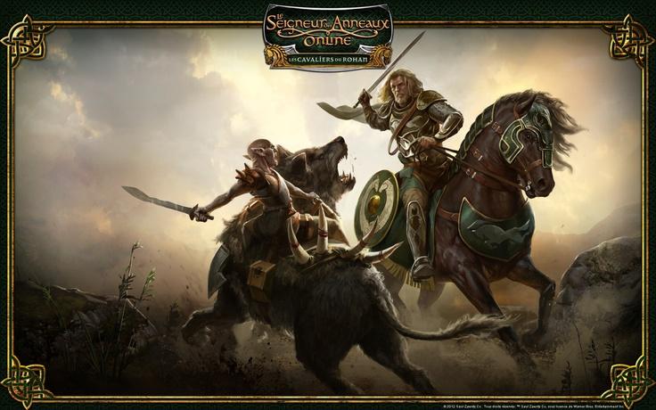 Le Seigneur des Anneaux Online - Les Cavaliers du Rohan
