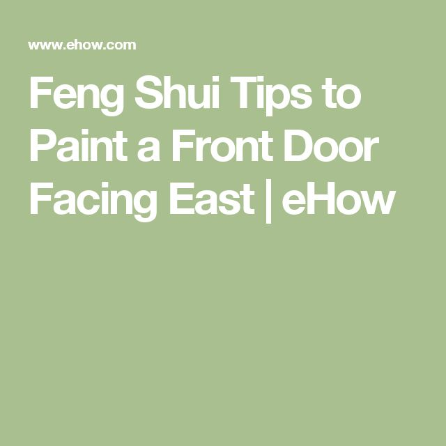 38 best feng shui images on pinterest feng shui tips for Feng shui back door
