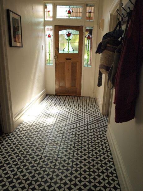 Bi Encaustic floor tiles