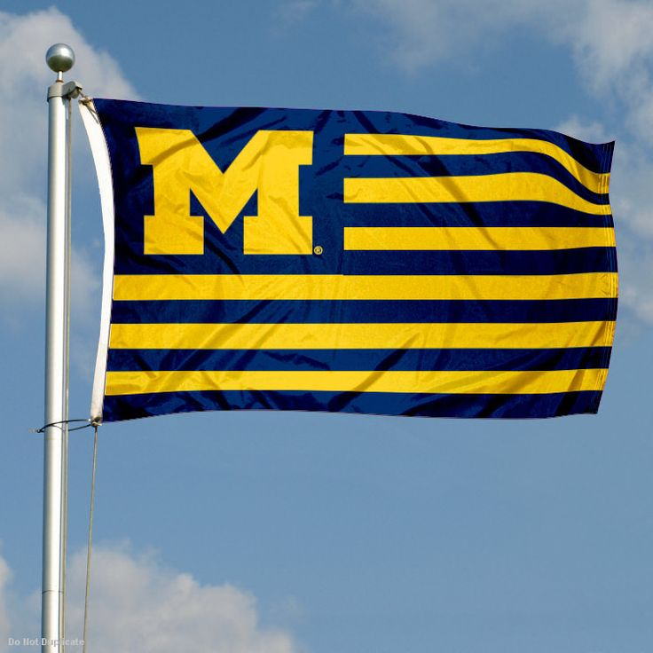 michigan alumni | ... and outdoor Michigan Wolverines University Flag for Alumni Nation