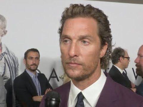 La triste reazione di Matthew McConaughey alla notizia della morte di Sam Shepard | Universal Movies