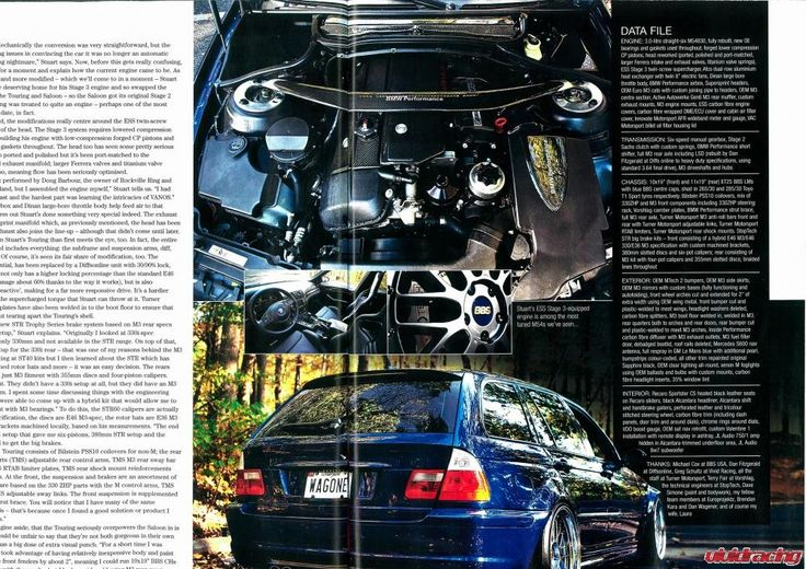 BMW E46 330 Touring Featured in BMW Performance Magazine - http://www.vividracing.com/blog/wp-content/gallery/bmw/stuart-moulton-e46-t500e36.jpg