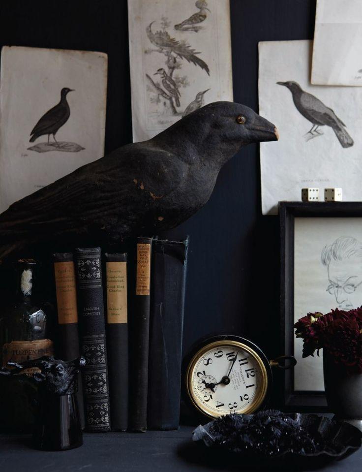 Spooky Raven Decor.