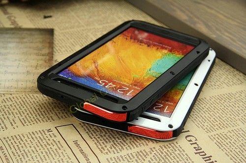 Love Mei Galaxy Note 3 Carcasa Protector De Aluminio Extremo