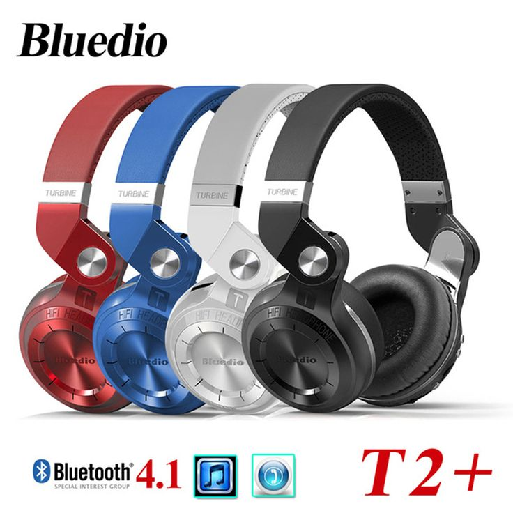 Bluedio T2 T2+ Blutooth Big Casque Audio Auriculares Bluetooth Earphone For Your Head Phone Headset Cordless Wireless Headphone //Price: $47.16      #followme