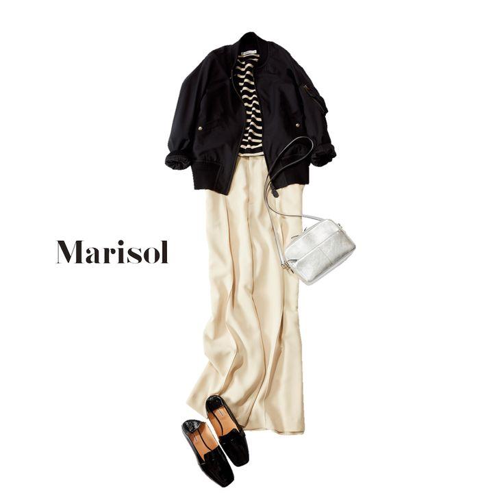 フレンチシックなデニムコーデから女っぷりライダースコーデまで【アラフォー春の1週間コーデ】|Marisol ONLINE|女っぷり上々!40代をもっとキレイに。