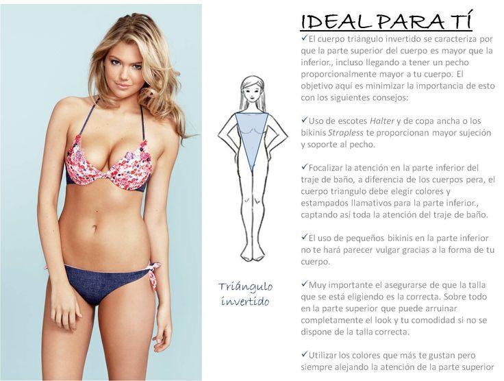 tipo de bikini segun cuerpo