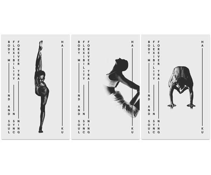 HAIKU Yoga postcards