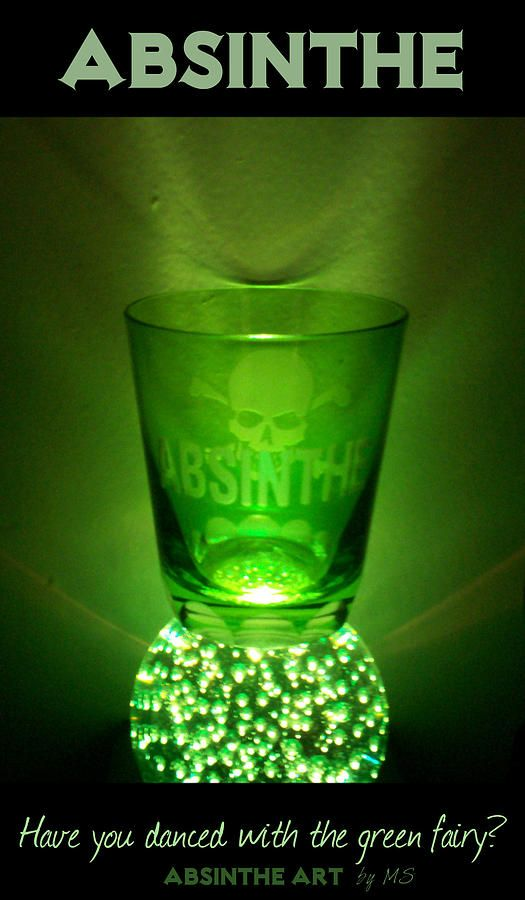Absinthe......not yet...but now I'm gonna have to......to find out wtf THIS is all about!  Lol