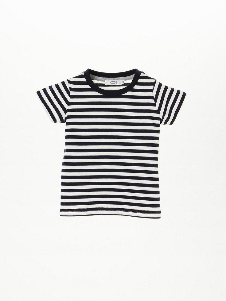 ボーダークルーネック半袖Tシャツ(K2162C59020)|大人気KOE(コエ)のTシャツアイテムのボーダークルーネック半袖Tシャツ(K2162C59020)を今すぐチェック!KOE(コエ)公式ファッション通販サイトでお得に買い物しよう!