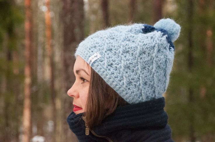 Genus Hat Crochet Pattern    ★ Crochet pattern for the Genus Hat, a two-colored winter hat/beanie.  ★ Easy to modify if you want to change the size.  ★ Size: 12-18 months, 18-24 months, 2-5 years, Child, Teen, Adult Woman, Adult Man  ★ Skill level: EASY  ★ Language: English / US crochet terms.      The Genus Hat crochet pattern is a pattern for a warm winter hat. This beanie pattern has a huge size range from 12 months to adult size. Put this to use & keep yourself warm throughout fall