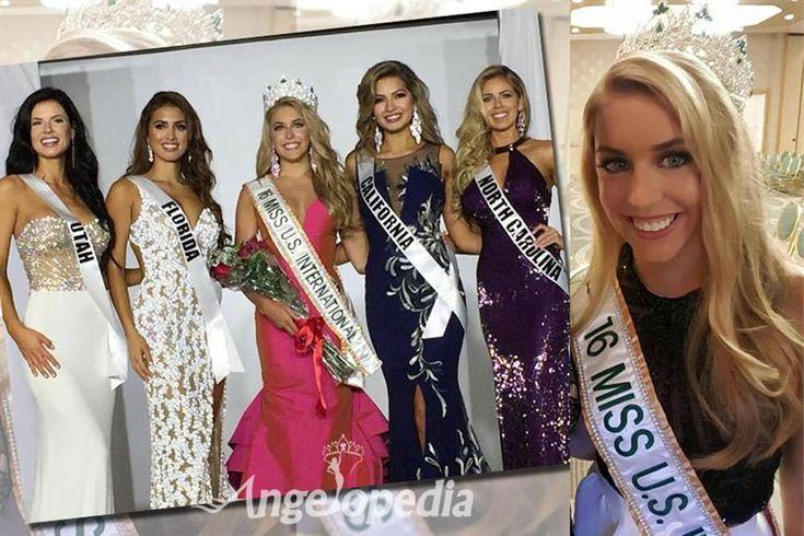 Kaitryana Leinbach from South Atlantic crowned as Miss US International 2016