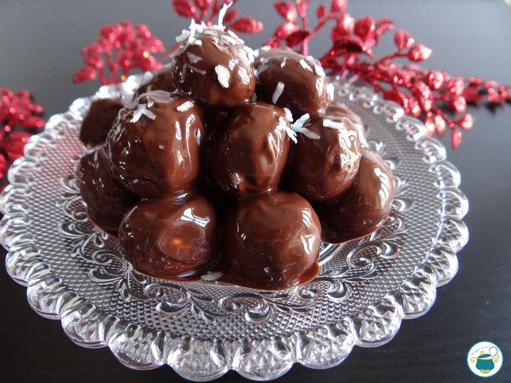 Struffoli al cioccolato / ricetta con stevia e non fritta