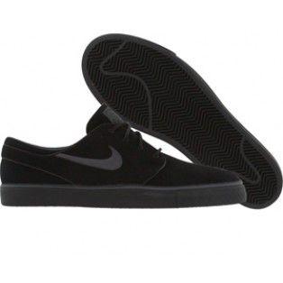 Nike Zoom Stefan Janoski Premium 375361 001 black anthracite