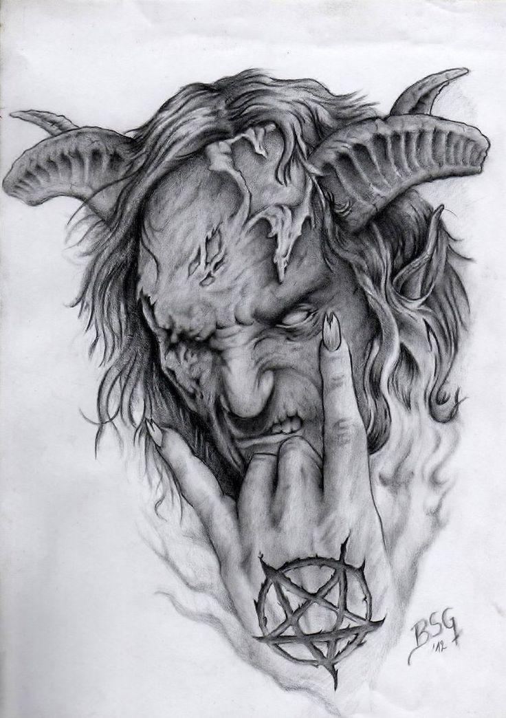 demon liorcifer by blacksoulgraphics