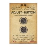Adjust A Button for Denim: Removable instant fix fashion button for tight or gaping waistbands for a perfect fit on jeans (No iron, sew, tailor) (Apparel)By Bristols 6