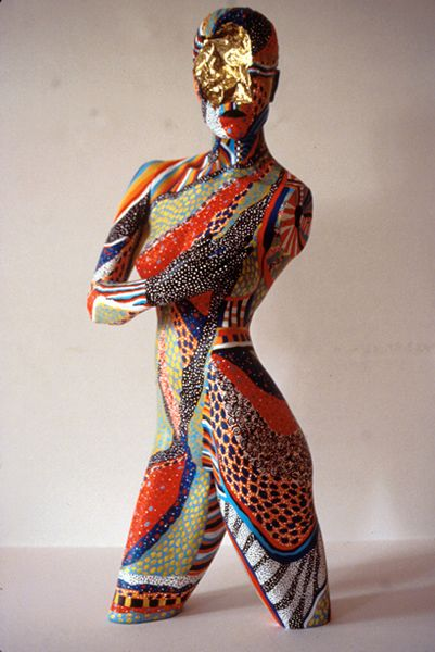 Created by Barb Matz of Right Brain Ventures  Art.  Find used mannequins for YOUR art projects at MannequinMadness.com