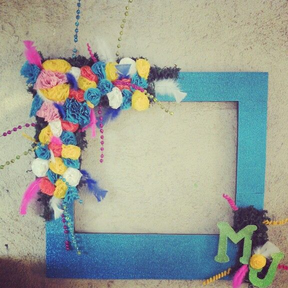 #Frame, photo booth idea.. Paper & fommy