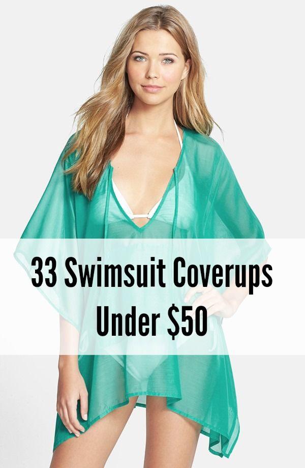 33 Stylish Swimsuit Coverups for Under $50 #summer #swim #fashion