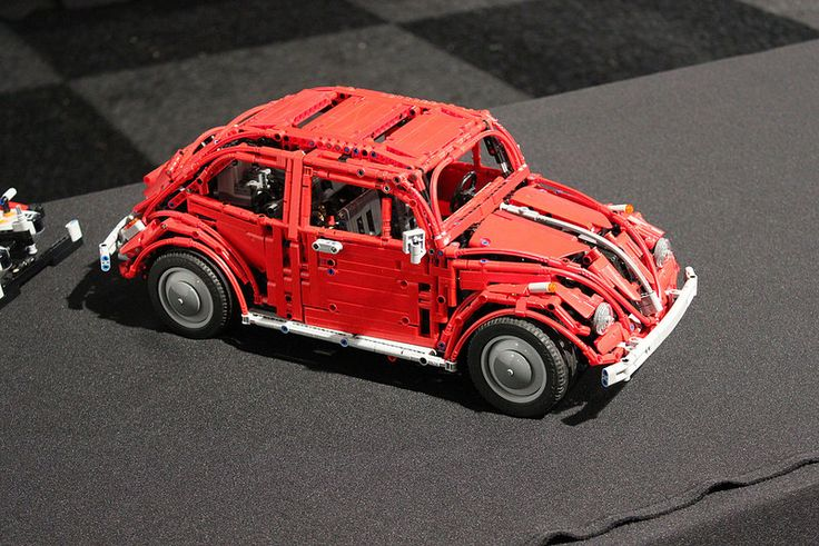 vw beetle in lego technic by sheepo lego technic. Black Bedroom Furniture Sets. Home Design Ideas