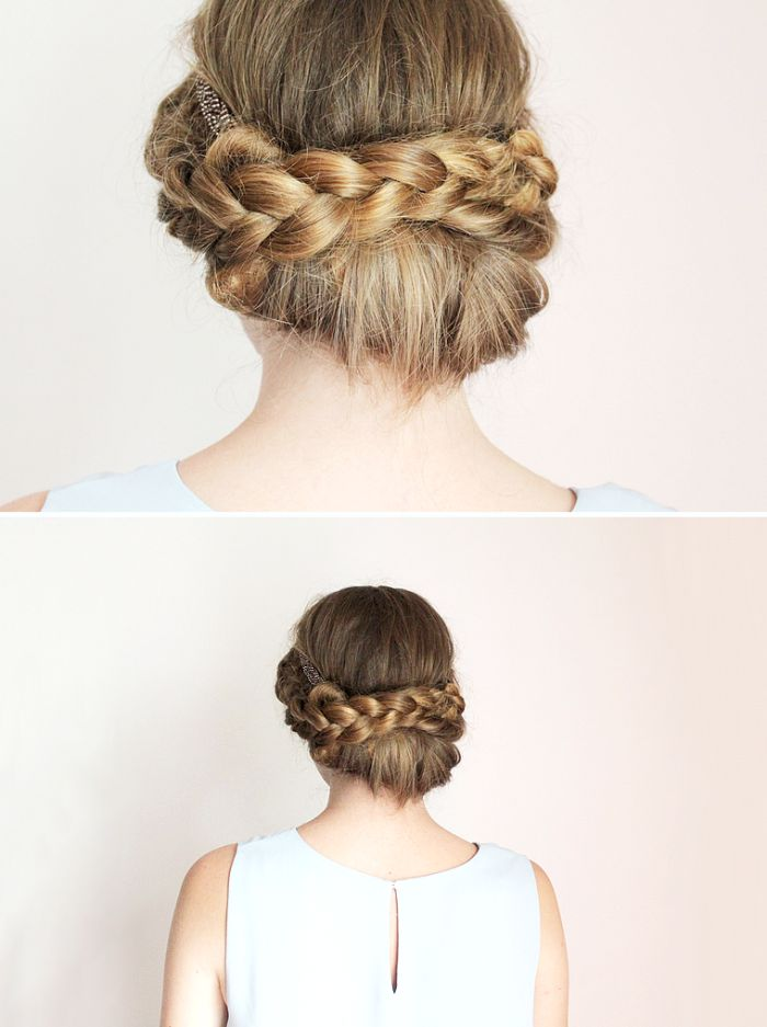 Souvent 310 best tuto de coiffure images on Pinterest | Hairstyles, Hair  RS93