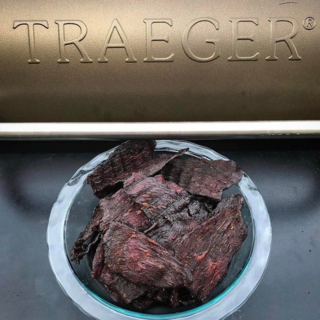 how to make deer jerky on grill
